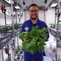 南極成功種出蔬菜 太空農作露曙光
