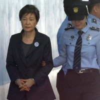 A South Korean court has sentenced disgraced ex-President Park Geun-hye to 24 years in prison over corruption scandal