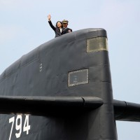 美將助台潛艦國造 總統府表達感謝