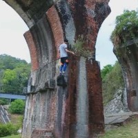 Taiwanese parkour coach criticized for training at heritage site
