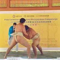 2018相撲錦標賽簽約 7月登場桃園巨蛋