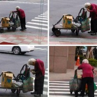96-year-old Kaohsiung grandma has been recycling for 20 years