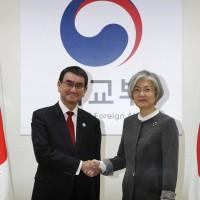 日韓外長於首爾會談 確認繼續維持對北韓壓力