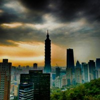 Photo of the Day: Taipei skyline looking ominous