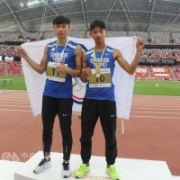 Taiwanese athletes clinch gold and silver at Singapore Open Track & Field Championships 2018