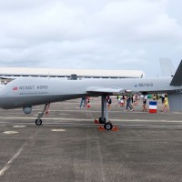 Taiwan tests largest domestic drone above Taitung