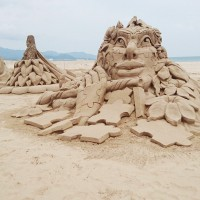 Taiwan's international sand sculpture festival kicks off
