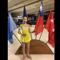 台灣花式滑冰新秀丁子涵 在法國出賽奪冠