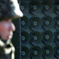 【快報】北韓也開始撤心戰喊話擴音器