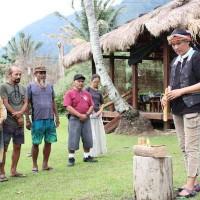 南島文化交流工坊臺東開跑 關島講師以椰子和台灣搏感情
