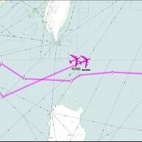 網傳美軍B52飛近廣東 以「戰斧飛彈攻擊航線」回應中共武嚇
