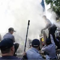 【最新】軍改案爆衝突 蔡總統:堅持改革•不向暴力低頭