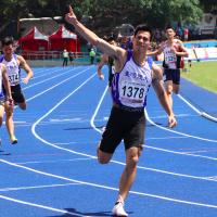 《全大運》楊俊瀚200公尺改寫全國紀錄 成功締造三連霸