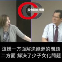 Lin Ching-yi calls for restricting power in Taiwan after 10 p.m. to save energy, raise birthrate