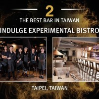 2nd Best Bar in Asia is in Taipei - Indulge Experimental Bistro