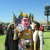 Taoist deity Nezha joins Taiwan Carnival in South Africa