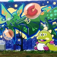 Taipei City offers six legal graffiti spaces along riverside parks