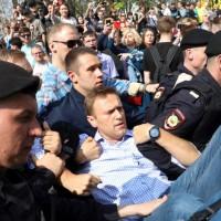 抗議普丁總統四連任 俄反對派逾1600人被捕