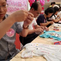 Yunlin county in western Taiwan welcomes Mother's Day with button sewing competition