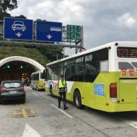First section of improved Suhua Highway opens to buses