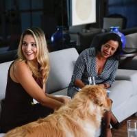 狗狗是家人!巴西第一夫人跳水救愛犬