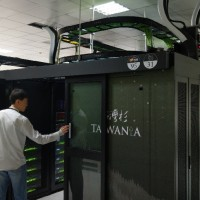 計算能量擠進世界百大 新超級電腦「台灣杉」正式啟用