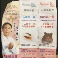 Taiwanese KMT councilor apologizes over using pet animals as Mother's Day giveaways
