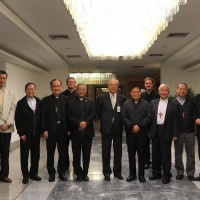 Taiwan bishops on ad limina visit to Vatican City
