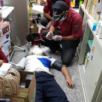 Employee collapses from exhaustion amid '499 Chaos' in southern Taiwan
