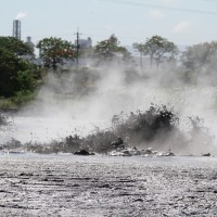 Mud volcano erupts in southern Taiwan