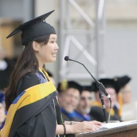 First Taiwanese graduate student delivers graduation speech at Berkeley