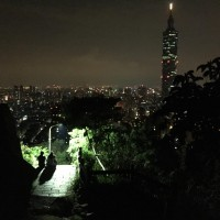 Photo of the Day: View from Taipei's Xiangshan at night