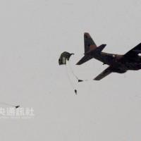 漢光預演墜地傘兵•生命徵象趨穩 初步排除保養摺傘問題