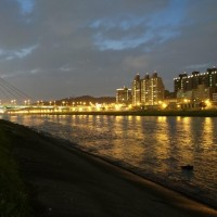 Photo of the Day: Taipei river park night view