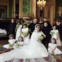 哈利王子官方結婚照公佈 可愛花童超搶鏡