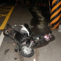 Young couple killedby Mercedes driving wrong way in western Taiwan