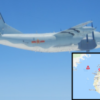 China spy plane spotted in Taiwan Strait during preparatory drills for Han Kuang Exercises