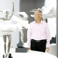 Acclaimed Taiwanese sculptor Ju Ming reveals new 'ballet' series