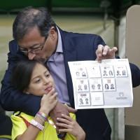 哥倫比亞總統大選無人過半 6月將舉行二輪投票