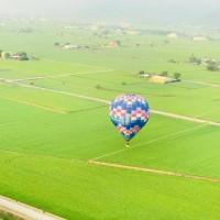 飛越浮圳金色稻浪 2018台東熱氣球月底啟程