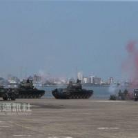 「漢光演習」第2日:淡水河口模擬作戰 殲滅來襲共軍