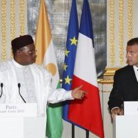 馬克宏籲加強捐款 助西非對抗恐怖組織