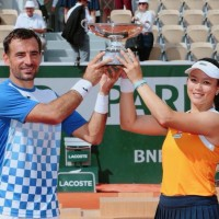Taiwan's Chanwins mixed doubles title at French Open