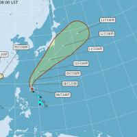 【第5號輕颱形成】週末高溫炎熱 週日起全台將有雨