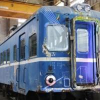 被莒光號從南夾到北 「藍寶寶」將於臺北機廠修復