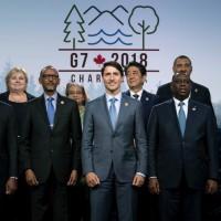 G7峰會閉幕 誓言對抗保護主義削減貿易障礙