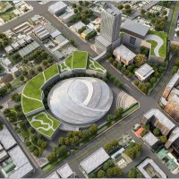 Planned 12,000 seat Taichung Arena in Central Taiwan receives strong investment interest
