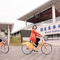 YouBike in Taiwan's Miaoli begins to hit the road at end of June