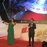 Taiwan fans impressed Ant-Man and the Wasp at red carpet event