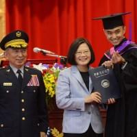 「警察節」前夕 蔡總統出席警大畢業典禮